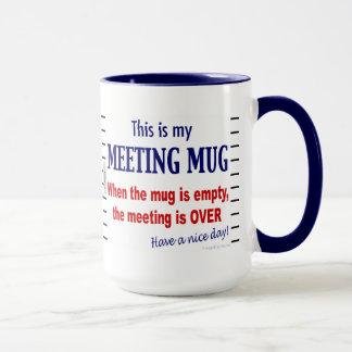 Sitzungs-Tassen-lustige Büro Humor-Kaffee-Tasse Tasse