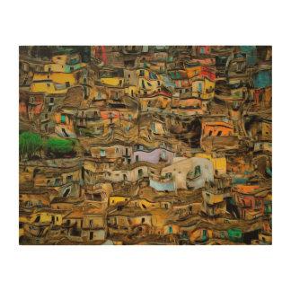 Sizilien, Italien Holzleinwände