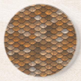 Skala-Muster Sandstein Untersetzer
