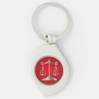 Skalen des Rotes der Gerechtigkeits-| des Gesetz| Schlüsselanhänger