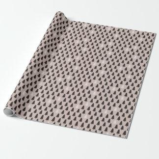 Skandinavisches Kiefer-Muster-Packpapier Geschenkpapier