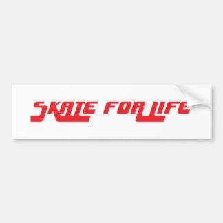 Skate für retro Aufkleber des Lebens Autoaufkleber