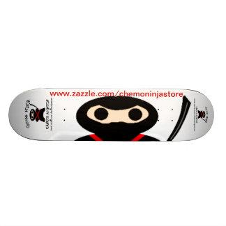 Skate mit Chemo Ninja Personalisiertes Skateboard