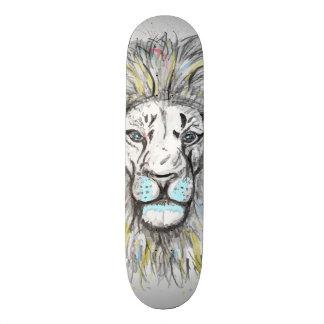 Skateboard 20 Cm Conception tirée par la main fraîche de lion de