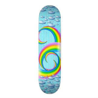 Skateboard-Bunter stilvoller Entwurf 18,7 Cm Mini Skateboard Deck