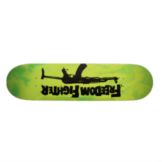 Skateboard des Freiheits-Kämpfer-AK Individuelle Skatedecks