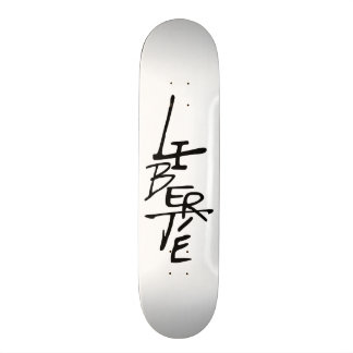 "Skateboard ""Freiheit "" Skate Board"