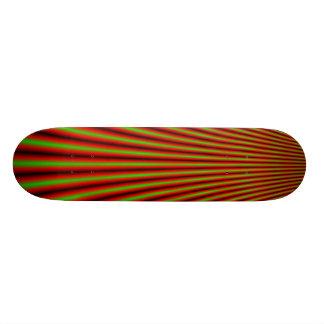 Skateboard mit Täuschungsentwurf Personalisiertes Skateboarddeck