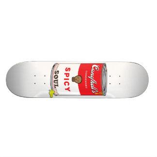 Skateboard Plate-forme épicée d'impression d'art de bruit