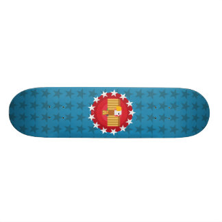 Skateboard-Plattform Freiheits-Eagles (blau) - Individuelle Decks