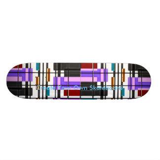 Skateboard schaffen Ihre Selbst 20,6 Cm Skateboard Deck