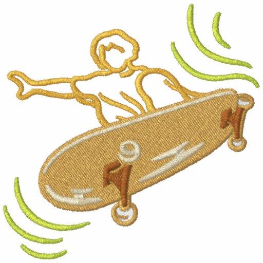 Skateboardfahrer Hoodie