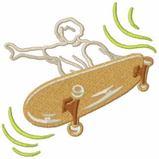 Skateboardfahrer Besticktes Hoodie