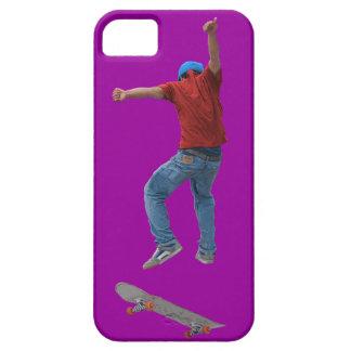 Skateboardfahrer erhalten etwas iPhone 5 case