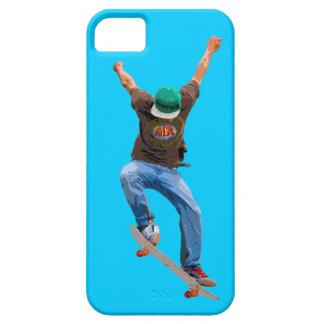 Skateboardfahrer erhalten etwas iPhone 5 etuis