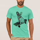 Skateboarding w/sunglasses T-Stück der T-Shirt