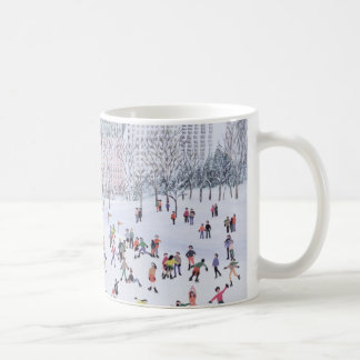 Skaten-Eisbahn Central Park New York 1994 Kaffeetasse