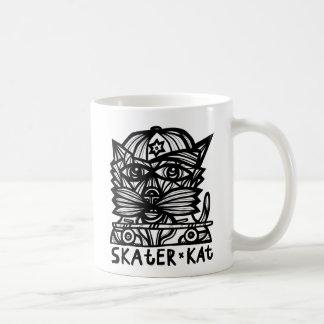 """""""Skater Kat"""" 11 Unze-Klassiker-Tasse Tasse"""