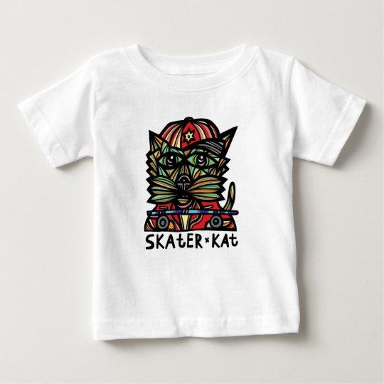 Skater Kat Baby T-shirt