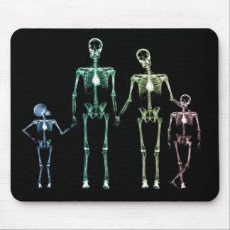 skeleton Mausunterlage des coolen Röntgenstrahls Mousepads