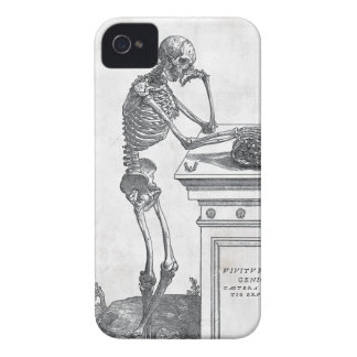 Skelett mit Schädel-Case-Mate-Fall iPhone 4 Cover