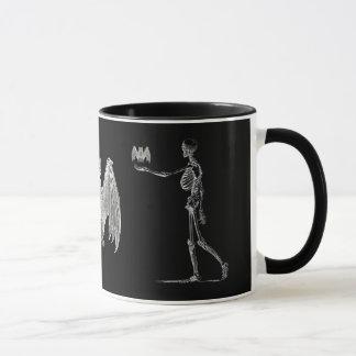 Skelett und Schläger-Tasse Tasse