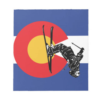 Ski Colorado Notizblock