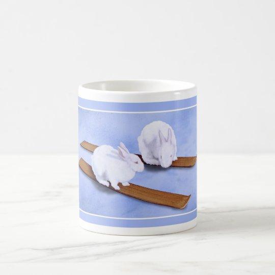 Ski-Häschen… Kaffeetasse