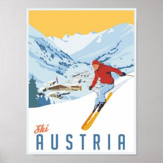Vintage Ski Poster auf Zazzle Schweiz