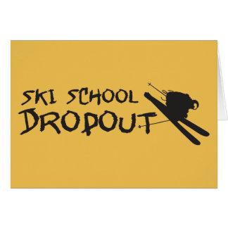 Ski-Schulaustritt Karte