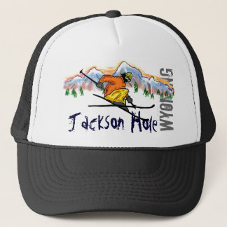 Skihut Jackson Hole Wyoming Truckerkappe
