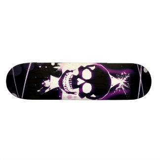 skill violettes Design Personalisiertes Skateboarddeck