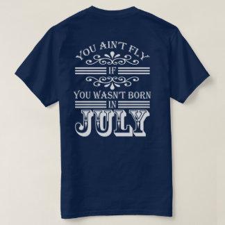 SKILLHAUSE - FLIEGE IM JULI (WEISSER BUCHSTABE) T-Shirt
