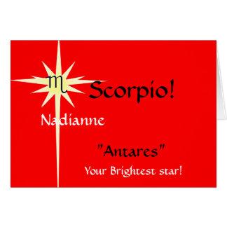 "Skorpion ""Antares"", Ihr Brigh… -… - Besonders Karte"