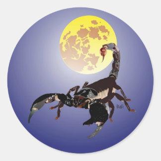 Skorpion Aufkleber