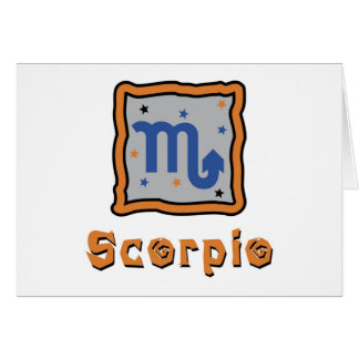 Skorpion Karte
