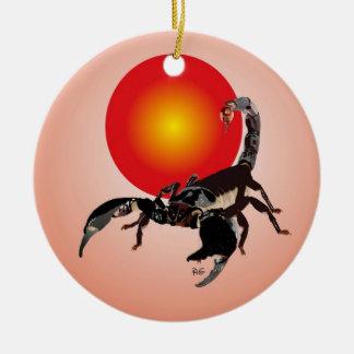 Skorpion Ornament