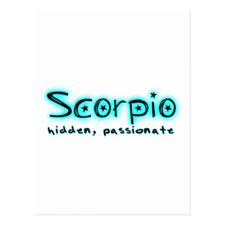 Skorpion Postkarte