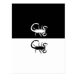 Skorpione Postkarte