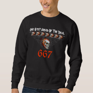 Skull - Death Head - Devil Sweatshirt