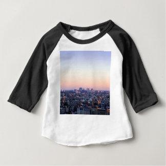 Skyline Amsterdams die Niederlande Baby T-shirt