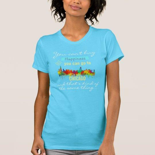 SKYLINE CHICAGOS, ILLINOIS - T-Shirt