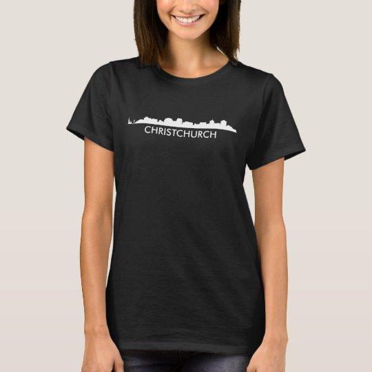 Skyline Christchurchs Neuseeland T-Shirt