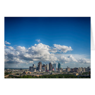 Skyline Dallas, Texas Karte