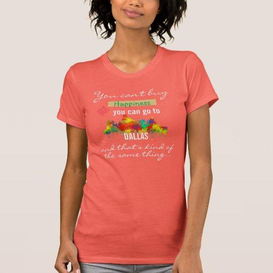 SKYLINE DALLAS, TEXAS - T-Shirt