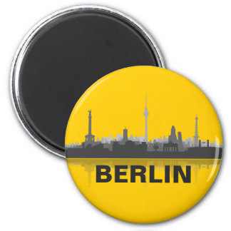 Skyline de Berlin réfrigérateur aimant