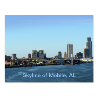 Skyline des Mobiles, AL Postkarte