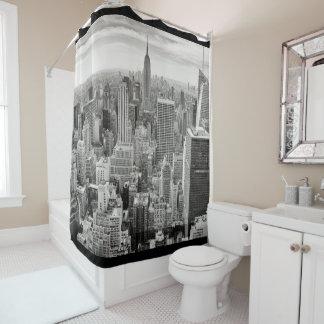 Skyline-Duschvorhang New York City Manhattan Duschvorhang
