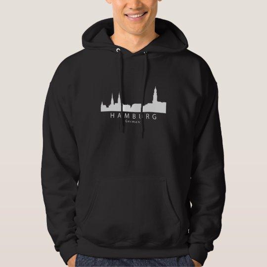 Skyline Hamburgs Deutschland Hoodie