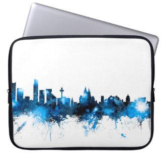 Skyline Liverpools England Laptop Schutzhülle